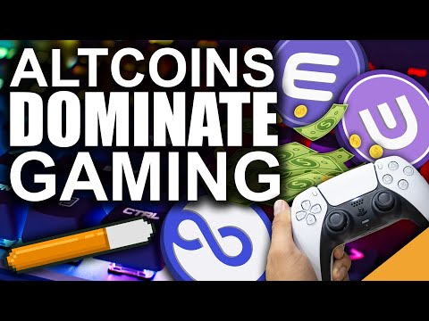 TOP 3 Altcoins to DOMINATE E-Sports (Become a MILLIONAIRE from Gaming)